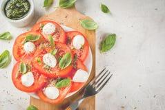 Salada Caprese Fotografia de Stock
