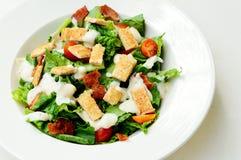 Salada ceasar deliciosa Imagem de Stock Royalty Free
