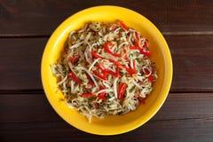 Salada chinesa Fotos de Stock Royalty Free