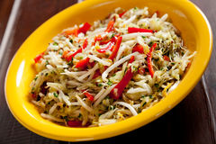 Salada chinesa Fotos de Stock Royalty Free