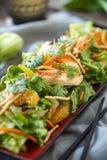 Salada chinesa da galinha Imagem de Stock Royalty Free
