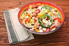 Salada clara da mola Imagem de Stock Royalty Free