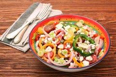Salada clara da mola Foto de Stock