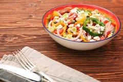 Salada clara da mola Foto de Stock Royalty Free