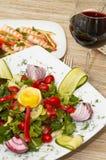 Salada colorida Imagens de Stock