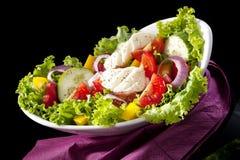 Salada colorida luxuoso. Foto de Stock Royalty Free