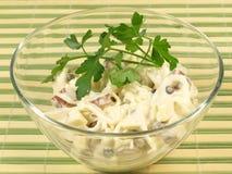 Salada com aipo Fotografia de Stock
