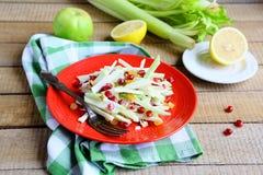 Salada com aipo verde Imagens de Stock
