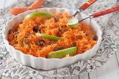 Salada com cenoura Imagem de Stock