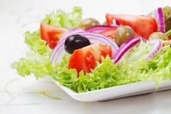 Salada com legumes frescos Imagens de Stock Royalty Free