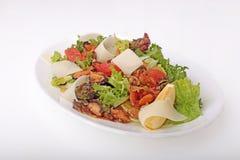 Salada com marisco Foto de Stock