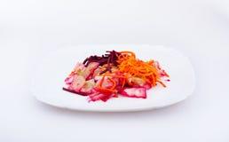 Salada com vegetais Foto de Stock Royalty Free
