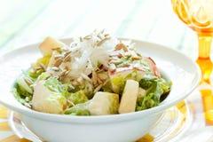 Salada crocante da semente de Apple e de girassol Foto de Stock Royalty Free
