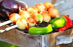 Salada crua quente Fotografia de Stock