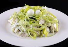 Salada, culinária Georgian imagem de stock