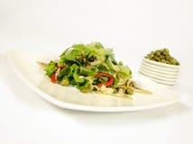 Salada da alcaparra Foto de Stock Royalty Free