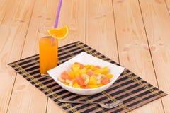 Salada da aptidão Fotografia de Stock Royalty Free
