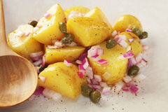 Salada da batata Fotografia de Stock