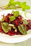 Salada da beterraba Imagem de Stock