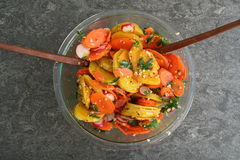 Salada da beterraba Imagem de Stock Royalty Free
