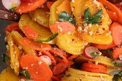 Salada da beterraba Fotografia de Stock Royalty Free