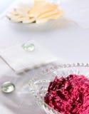 Salada da beterraba vermelha Fotos de Stock Royalty Free