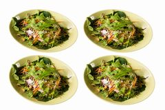 Salada da carne de caranguejo Imagem de Stock Royalty Free
