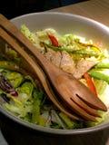 Salada da carne de porco Fotografia de Stock Royalty Free