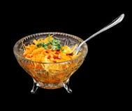 Salada da cenoura Imagens de Stock