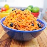 Salada da cenoura & do mirtilo Imagens de Stock Royalty Free
