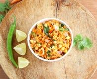 Salada da cenoura e da lentilha Fotos de Stock Royalty Free