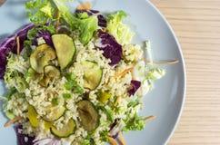 Salada da cevada de pérola Foto de Stock