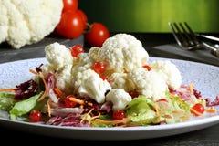 Salada da couve-flor Fotos de Stock Royalty Free