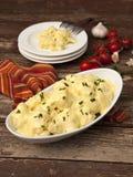 Salada da couve-flor com maionese Imagem de Stock Royalty Free