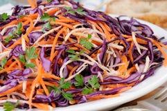 Salada da couve vermelha Imagens de Stock Royalty Free
