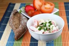Salada da dieta Fotos de Stock Royalty Free