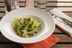 Salada da ervilha & da fava imagem de stock