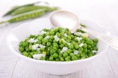 Salada da ervilha verde Imagens de Stock Royalty Free
