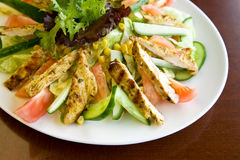 Salada da galinha Fotos de Stock