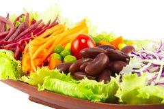 Salada da grão Imagem de Stock Royalty Free