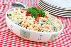 Salada da massa Fotos de Stock