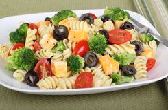 Salada da massa Fotos de Stock Royalty Free