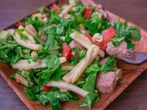 Salada da massa Fotografia de Stock Royalty Free