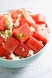 Salada da melancia Imagem de Stock