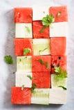 Salada da melancia Fotos de Stock