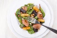 Salada da mistura com citrino fotos de stock