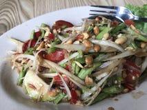Salada da papaia de Korat Fotos de Stock Royalty Free