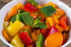 Salada da pimenta Imagem de Stock
