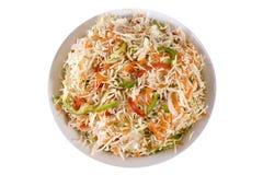 Salada da salada de repolho foto de stock