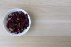 Salada das beterrabas Imagem de Stock